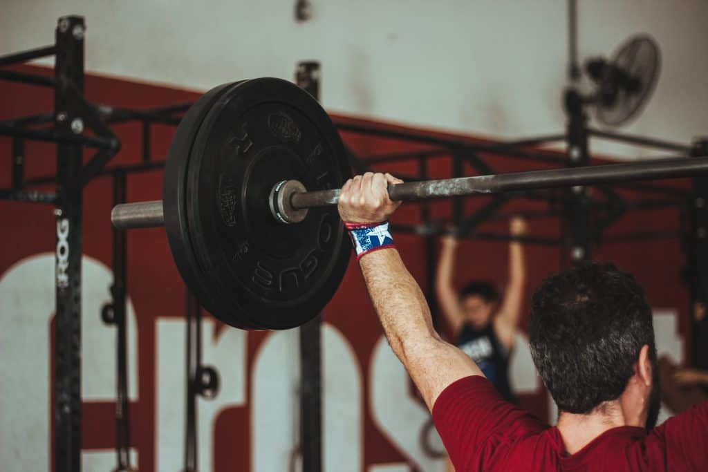 lifting weights strength training on keto