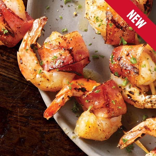 bacon wrapped shrimp ketogenic low carb diet tgi fridays from the grill