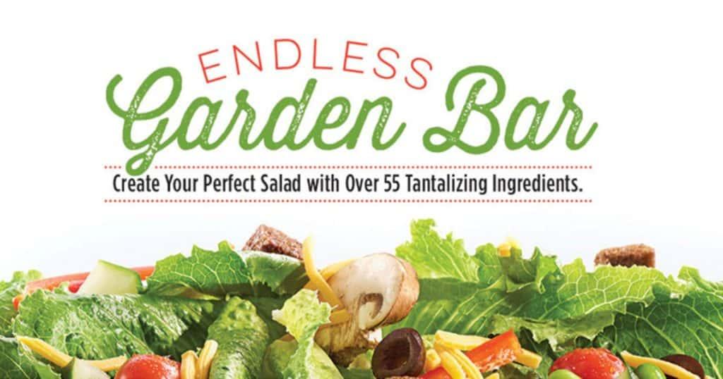 ruby tuesday keto friendly endless garden salad bar