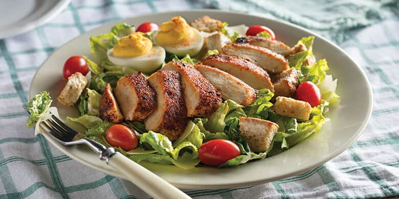 southern grilled chicken caesar cracker barrel low carb entrees ketogenic diet