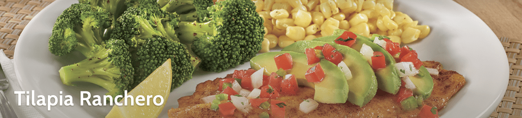 tilapia ranchero denny's meal options keto compatible low carb