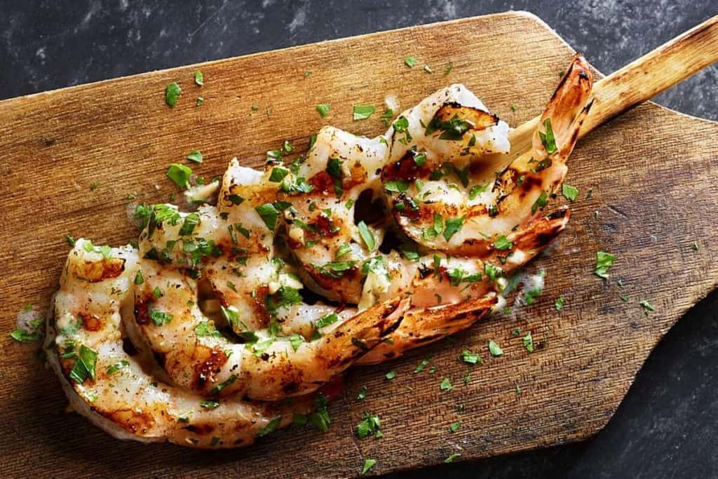 applebee's toppings extras grilled shrimp skewer for ketogenic dieters