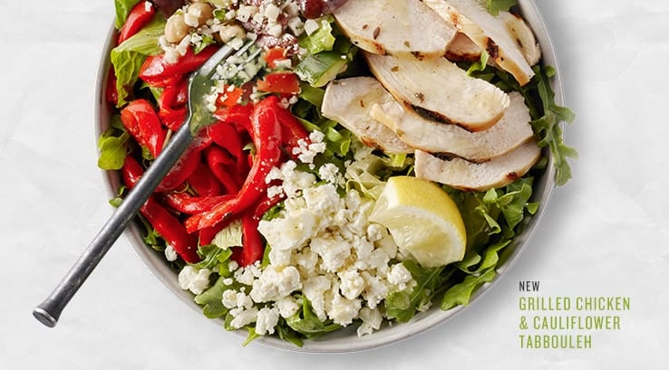 keto compatible meal options at starbucks cauliflower salad