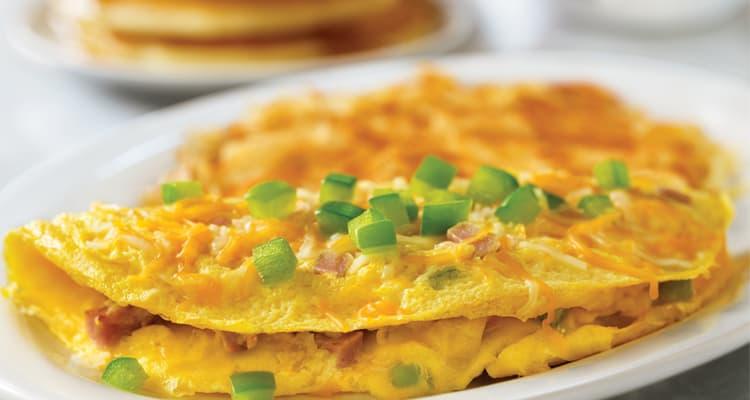 keto compatible three egg omelette village inn