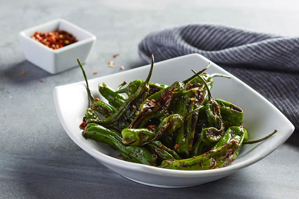 keto friendly appetizers cpk shishito peppers