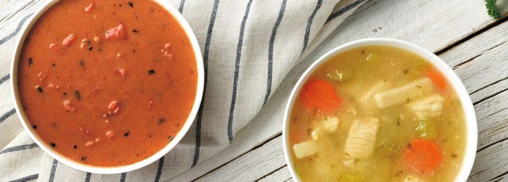 soups at village inn on ketogenic diet