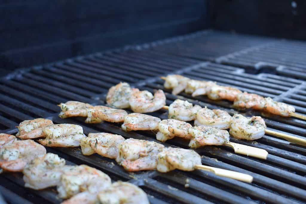 keto ketogenic diet compatible sides on the border shrimp skewer