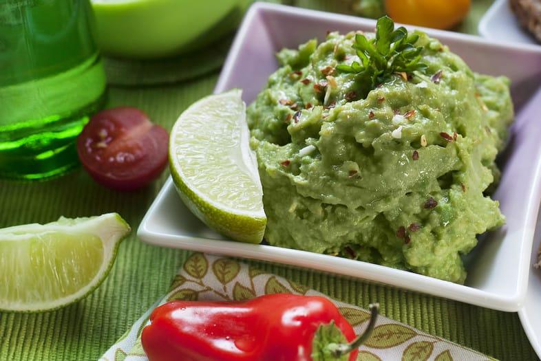 low carb appetizers fuzzys taco shop guacamole