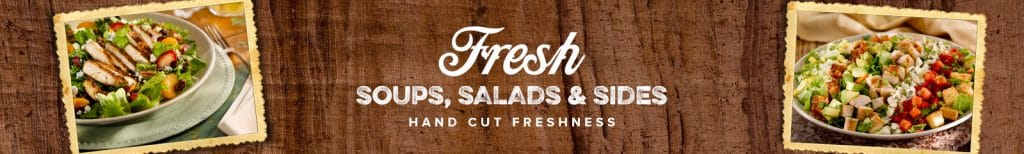 o'charleys salads for low carb eaters