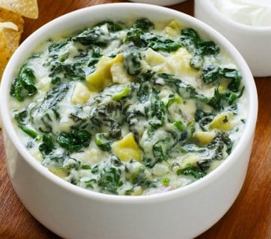 ocharleys starters apps keto friendly spinach artichoke dip