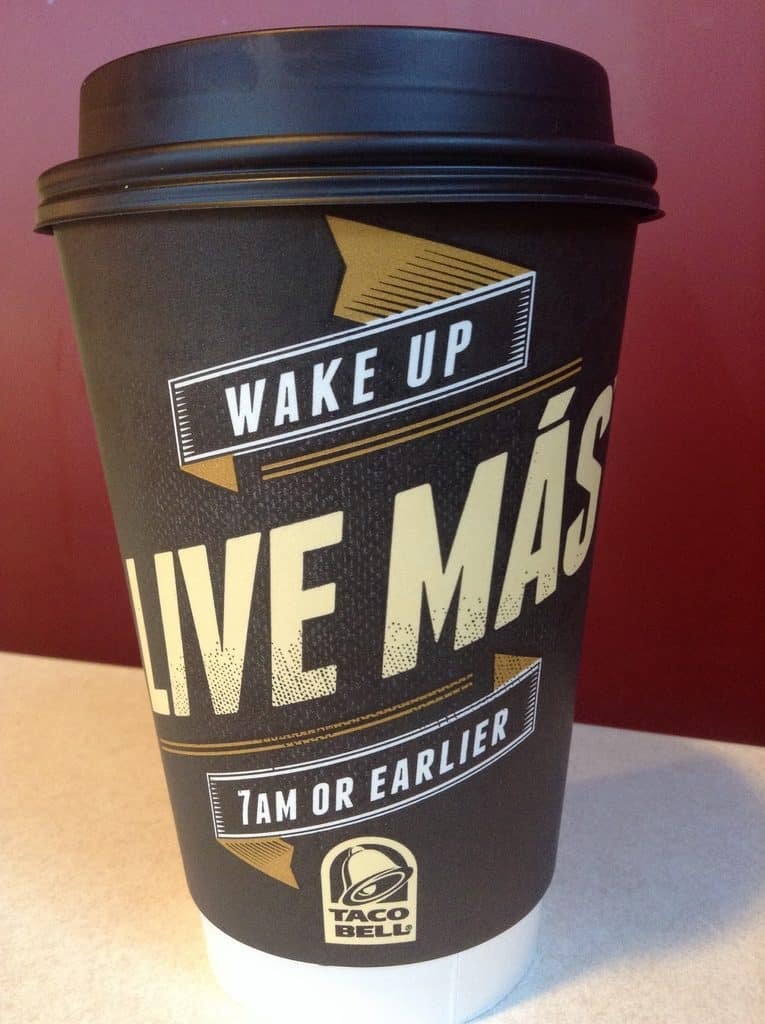 what to drink at taco bell low carb keto friendly coffee