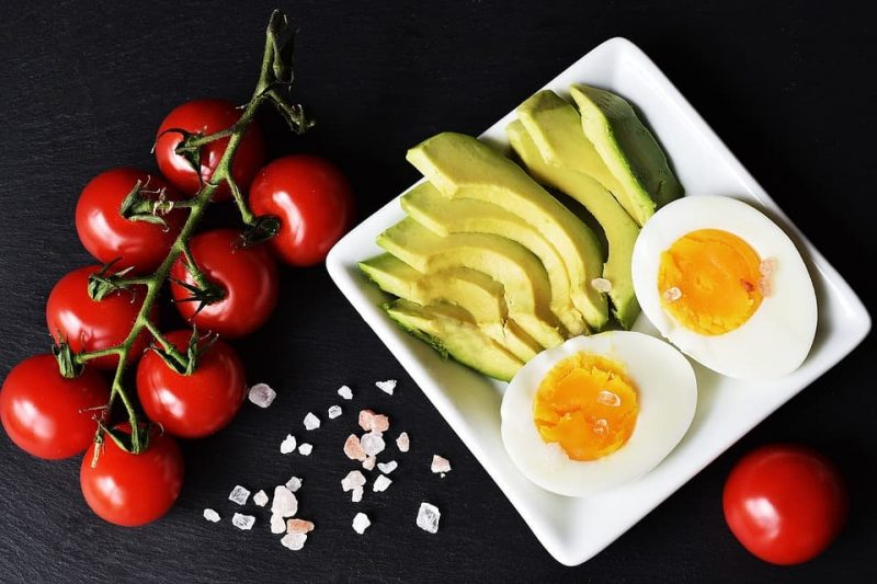 what to eat ketogenic low carb keto meatless meat free eaters eggs avocado